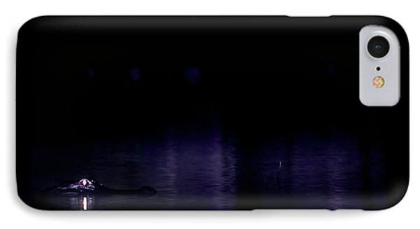 IPhone Case featuring the photograph Alone In The Dark by Mark Andrew Thomas