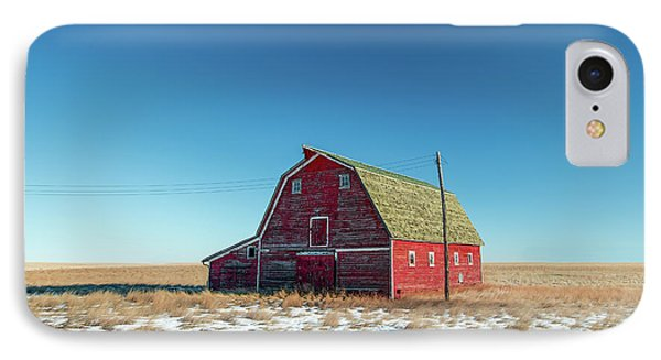 Alone In The Middle IPhone Case by Todd Klassy