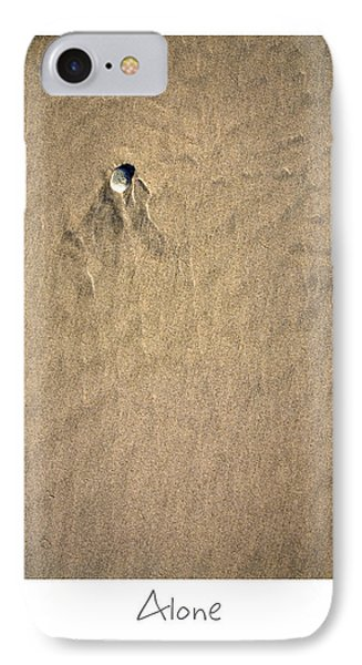 Alone Phone Case by Peter Tellone