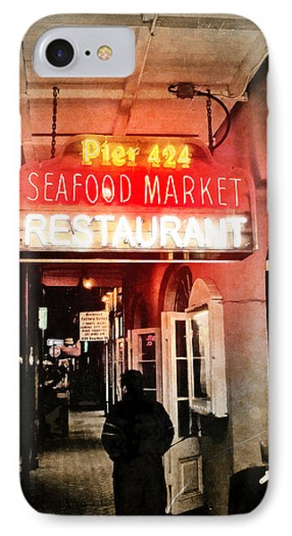 IPhone Case featuring the photograph Along Bourbon Street - New Orleans by Glenn McCarthy Art and Photography