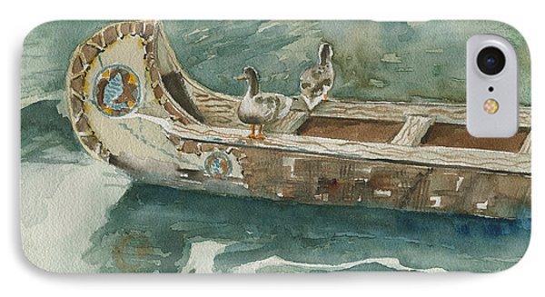 Along For The Ride Phone Case by Arline Wagner