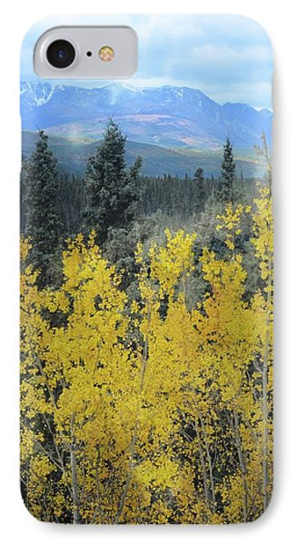 Along The Alaskan Highway  IPhone Case by Marty Koch