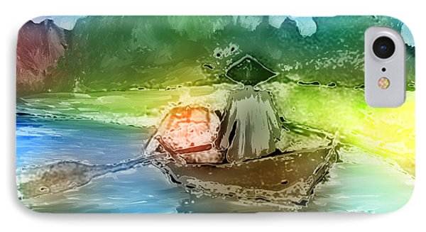 Along The Banks Of Hanoi Phone Case by Arline Wagner