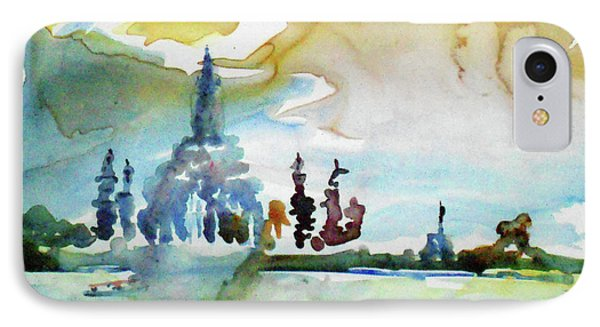Along The Chao Phaya River IPhone Case by Tom Simmons