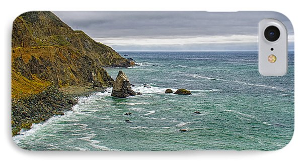Along The Coast Highway IPhone Case by Joseph Hollingsworth