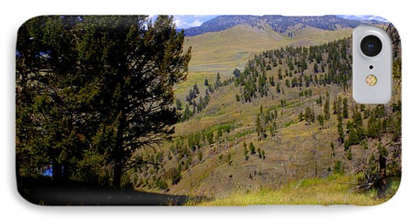 Along The Hell Roaring Creek Trail Phone Case by Marty Koch