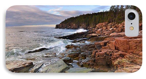 Along The Maine Coastline IPhone Case by Stephen  Vecchiotti