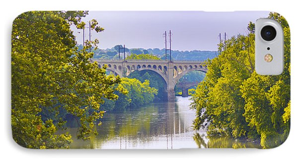 Along The Schuylkill River In Manayunk Phone Case by Bill Cannon
