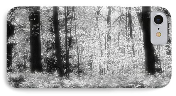 Along The Top Bw  IPhone Case