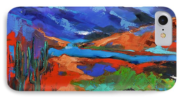 Along The Trail - Arizona IPhone Case by Elise Palmigiani