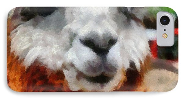 Alpaca Phone Case by Michelle Calkins