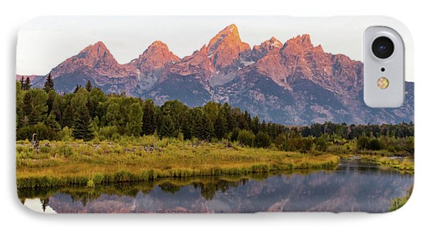 IPhone Case featuring the photograph Alpen Glow by Mary Hone
