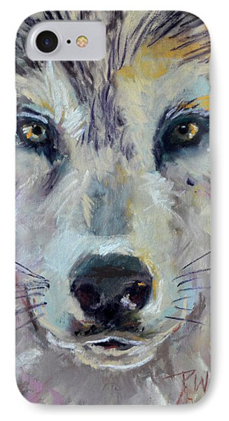 Alpha IPhone Case by Pattie Wall