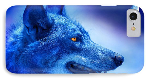 Alpha Wolf IPhone Case
