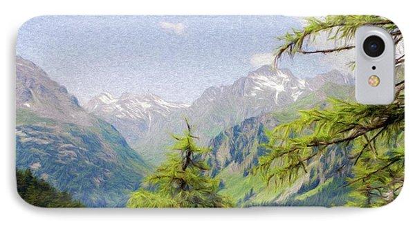 Alpine Altitude Phone Case by Jeffrey Kolker