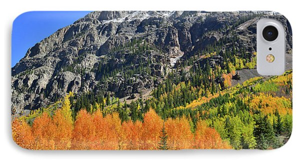 IPhone Case featuring the photograph Alpine Loop Road Aspens by Ray Mathis