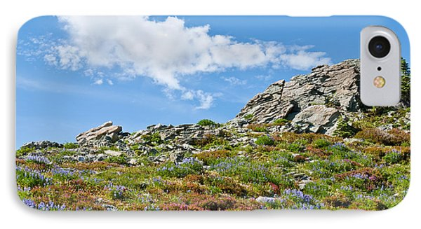 Alpine Rock Garden IPhone Case