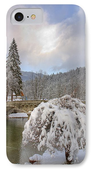 Alpine Winter Beauty IPhone Case