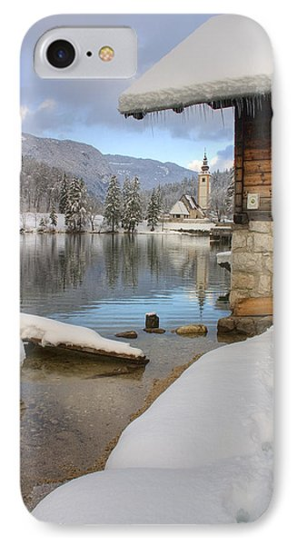 Alpine Winter Clarity IPhone Case