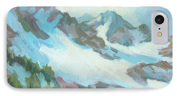 Alps In Switzerland IPhone Case by Diane McClary