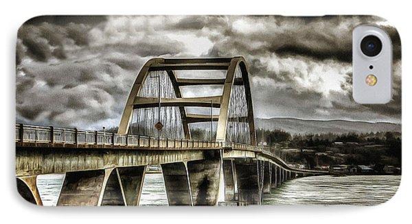 Alsea Bay Bridge IPhone Case