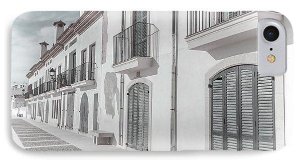 Altafulla Spain IPhone Case by Joan Carroll