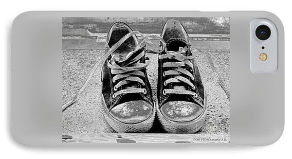 Old Sneakers. IPhone Case by Don Pedro De Gracia