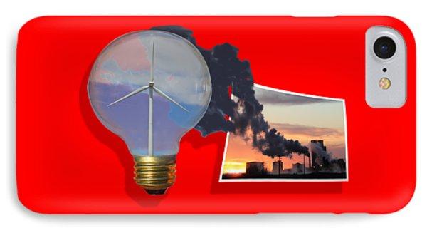 Alternative Energy Phone Case by Shane Bechler