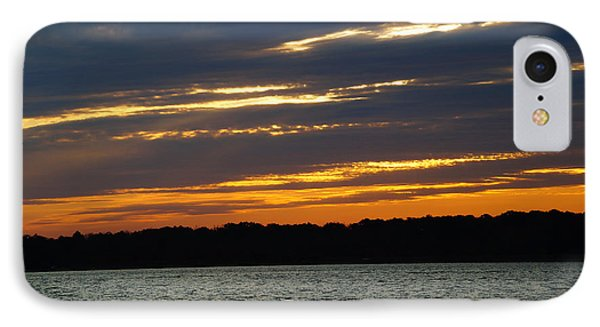 Alum Creek Sunset IPhone Case by Mike Murdock