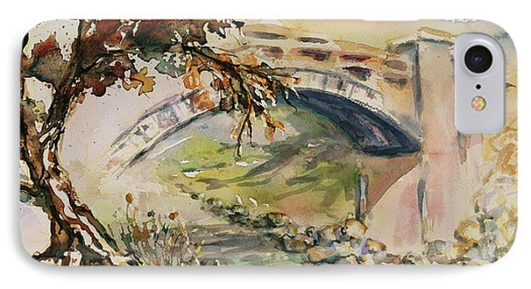 IPhone Case featuring the painting Alum Rock Park California Landscape 5 by Xueling Zou