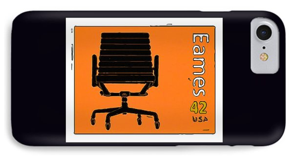 Aluminum Group Chair IPhone Case by Lanjee Chee