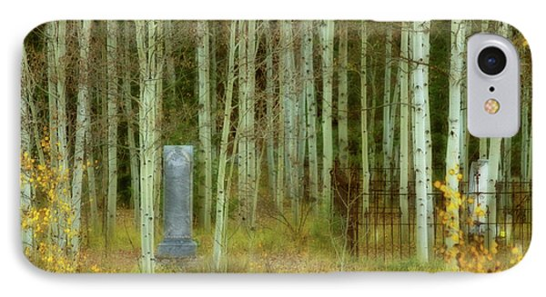IPhone Case featuring the photograph Alvarado Cemetery 41 by Marie Leslie