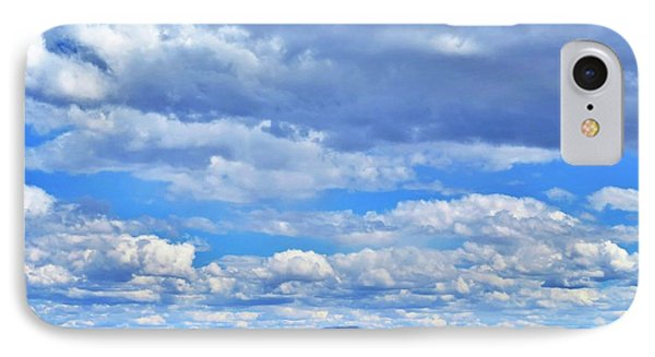 Sky Over Alvord Playa IPhone Case
