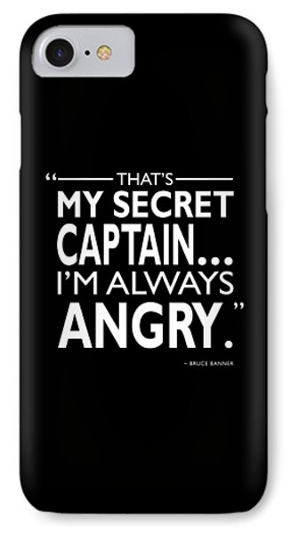 Always Angry IPhone Case by Mark Rogan