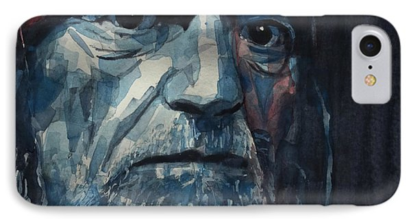 Always On My Mind - Willie Nelson  IPhone Case by Paul Lovering