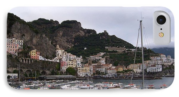 IPhone Case featuring the photograph Amalfi Coast by Judy Kirouac