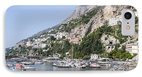 Amalfi Coast Italy IPhone Case by Allan Levin