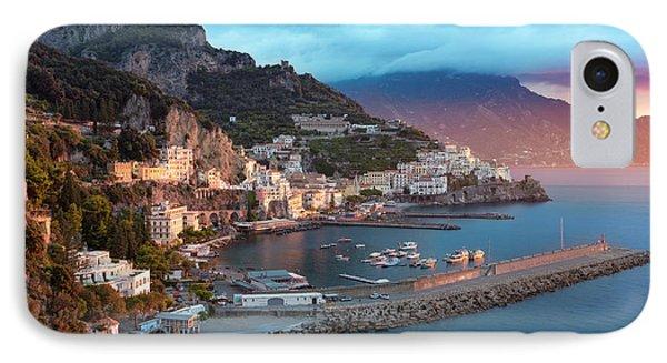 Amalfi Sunrise IPhone 7 Case by Brian Jannsen