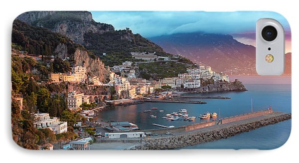 Amalfi Sunrise IPhone Case by Brian Jannsen