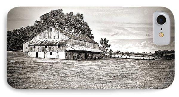 Amana Colonies Farm House IPhone Case by Scott Hansen
