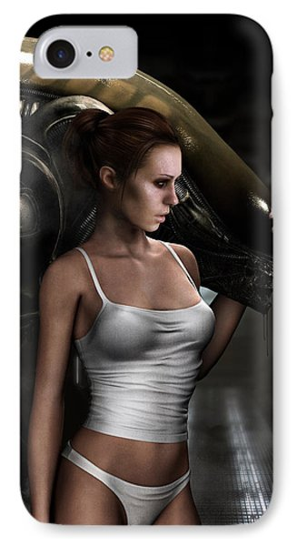 Amanda Ripley IPhone Case by Pharaoh Laboa