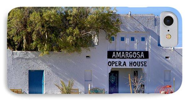 Amargosa Opera House Phone Case by Tomasz Dziubinski
