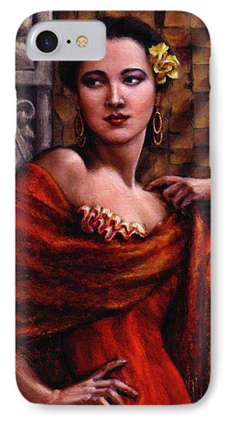 Amarillo Rose Phone Case by Jane Bucci