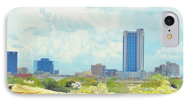Amarillo Texas In The Spring IPhone Case