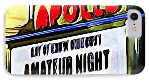 Amateur Night IPhone Case by Ed Weidman