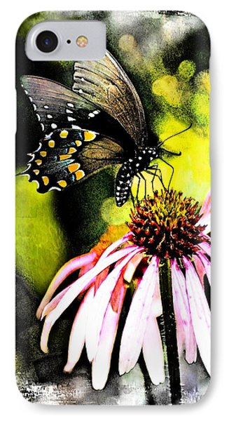 Amazing Butterfly Watercolor 2 IPhone Case by Marty Koch