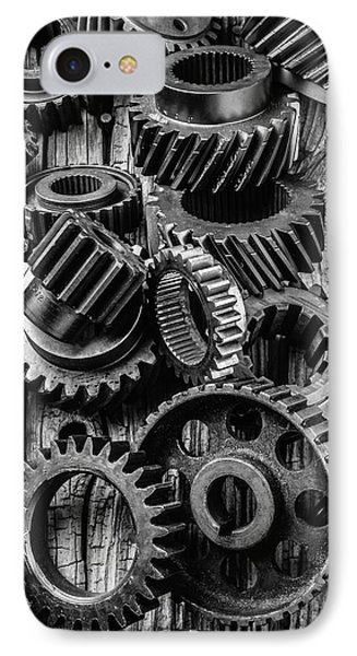 Amazing Gears IPhone Case by Garry Gay