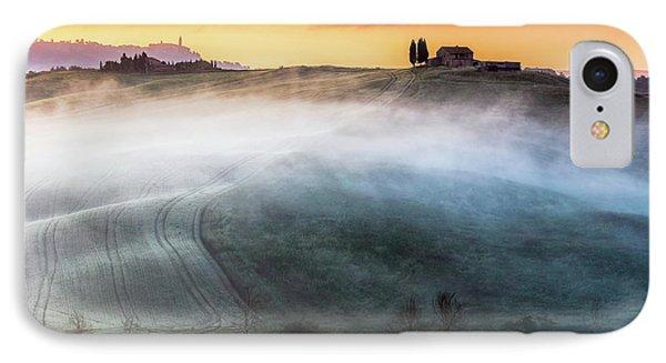 Amazing Landscape Of Tuscany Phone Case by Evgeni Dinev