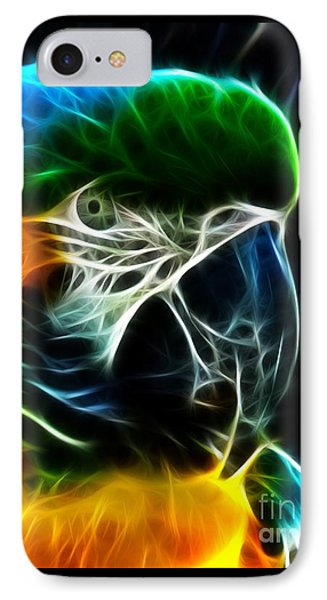 Amazing Parrot Portrait IPhone Case