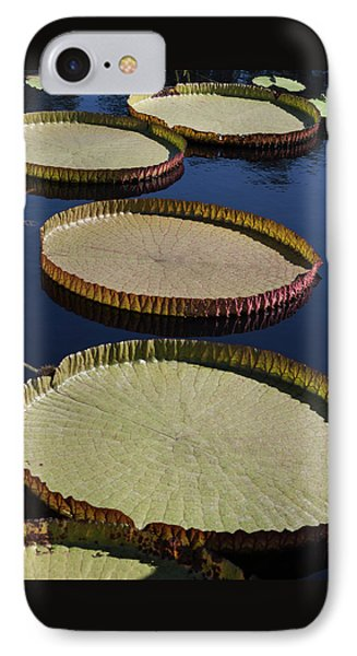 IPhone Case featuring the photograph Amazonas Lily Pads II by Suzanne Gaff